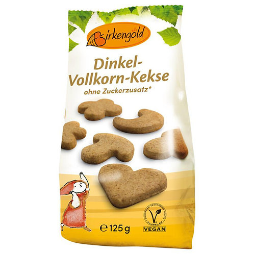 Dinkel Vollkorn Kekse Birkengold 125g