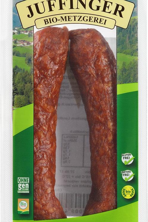 Chiliwurzen Rohwurst geräuchert 2 Stk.