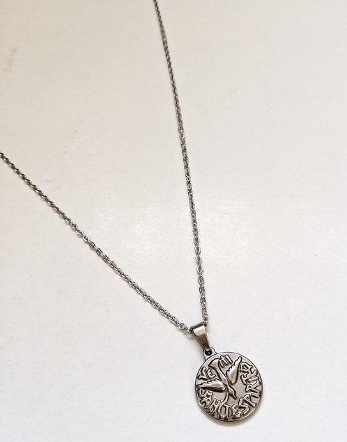 Spirito Santo Medal with Chain