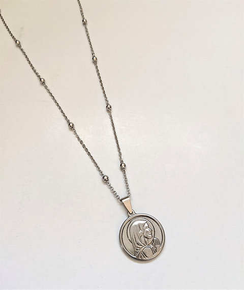 Virgencita Medal with Chain