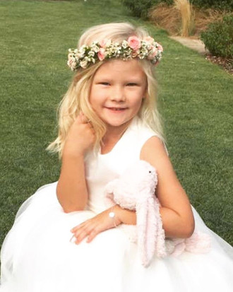 The beautiful Flower girl from this week