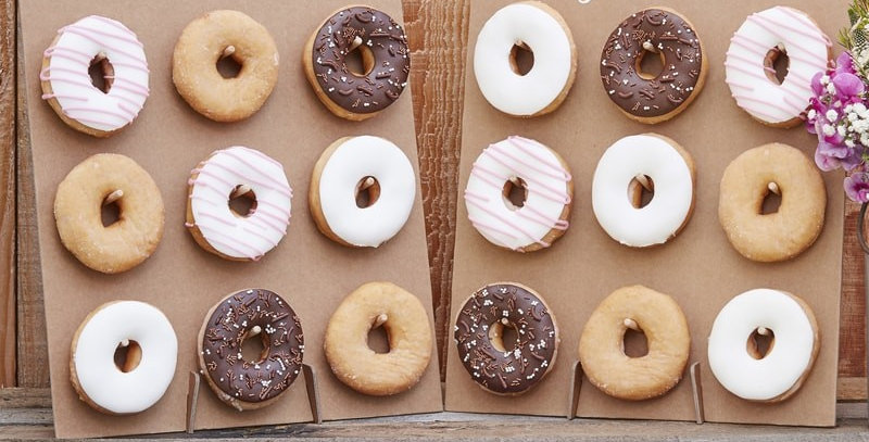 Donut Wall- Rustic Country