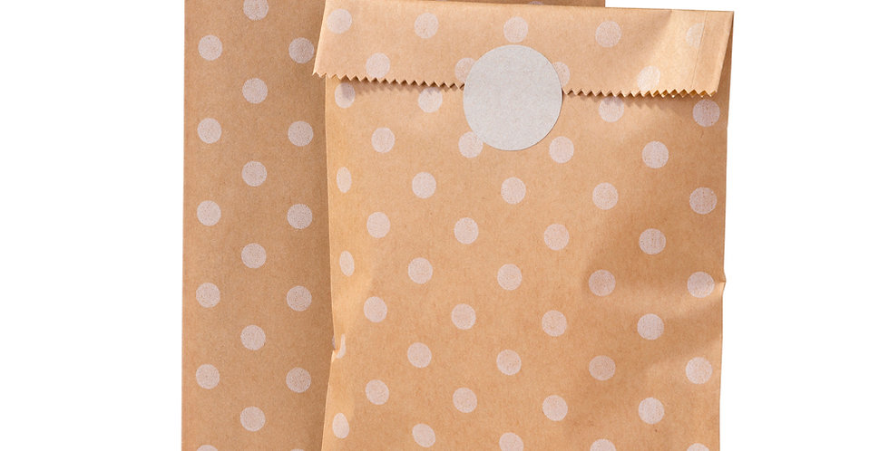 Mix & Match Kraft Spot Bags