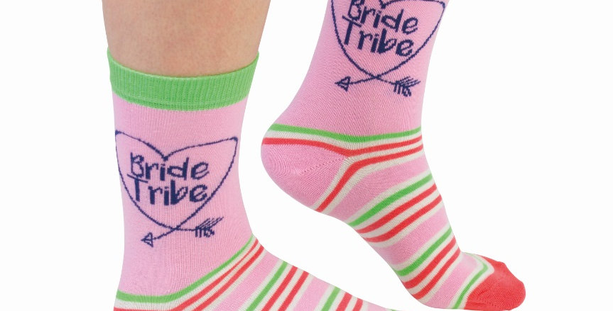Bride tribe socks