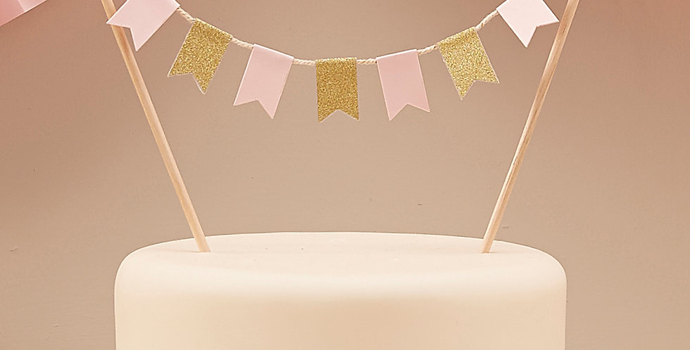 Cake Bunting - Pastel Perfection