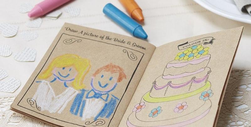 Kids Activity Books- Vintage Affair