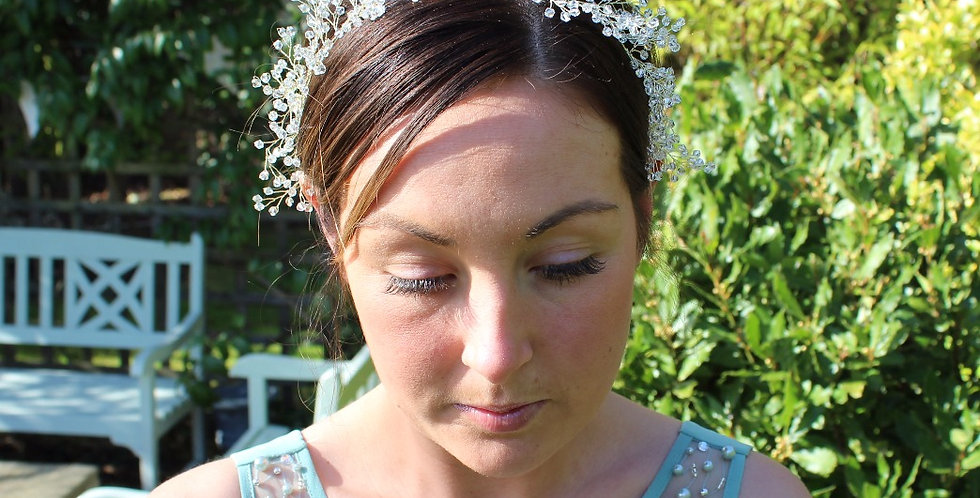 Grace - Gypsophila Headpiece