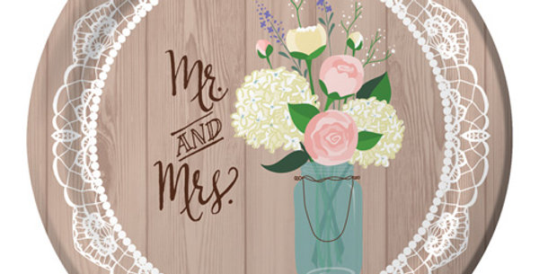 Mr and Mrs Paper Plate