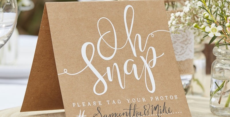 Oh Snap! Instagram Signs - Rustic Country