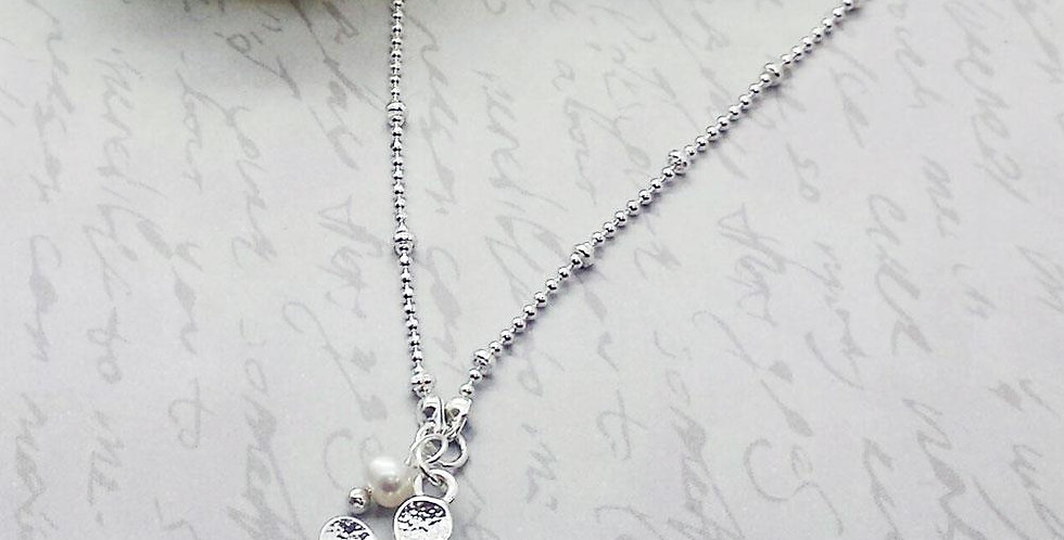 Thank You My Pretty Flower Girl - Flower Necklace