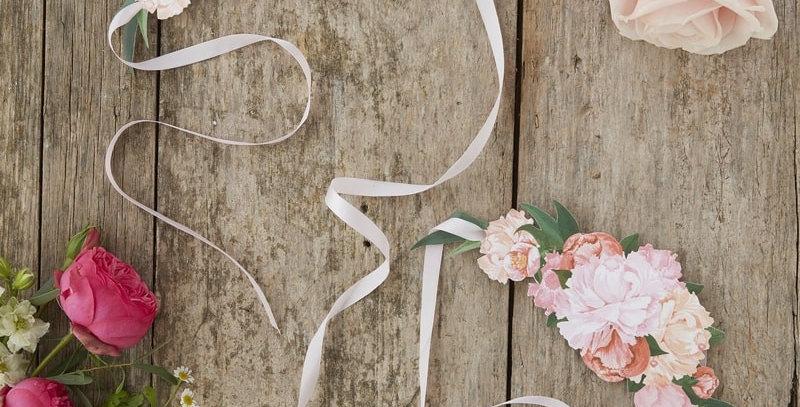 Floral Tiaras - Boho