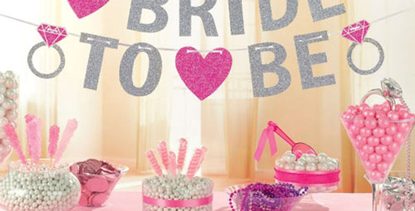 Bride to Be Glitter Bunting