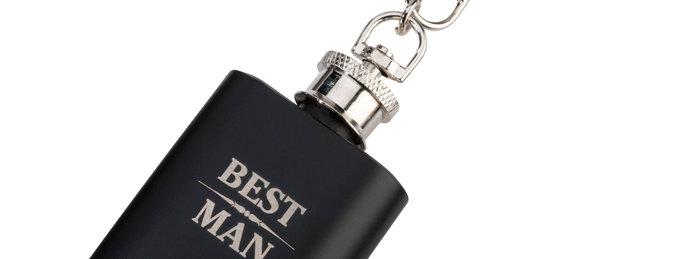 Mini Best Man Hip Flask