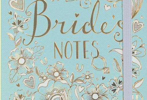 Duck Egg Blue Bridal Notes