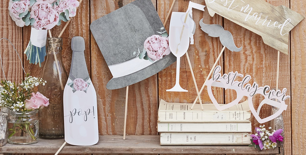 Photo Booth Props- Rustic Country