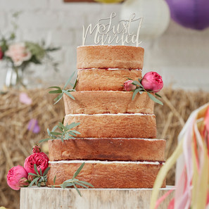 BH-724 Wooden Cake Toppers - Just Marrie