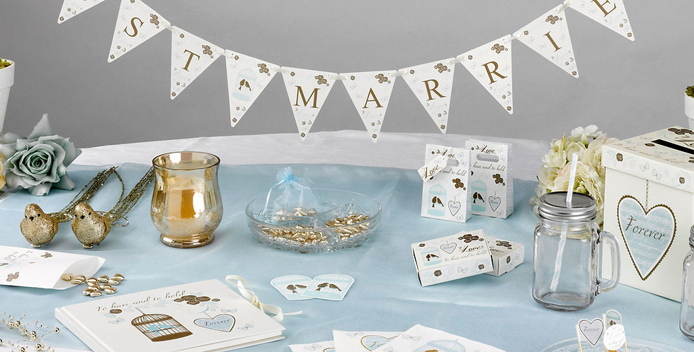 To Have And To Hold - Just Married Mini Bunting