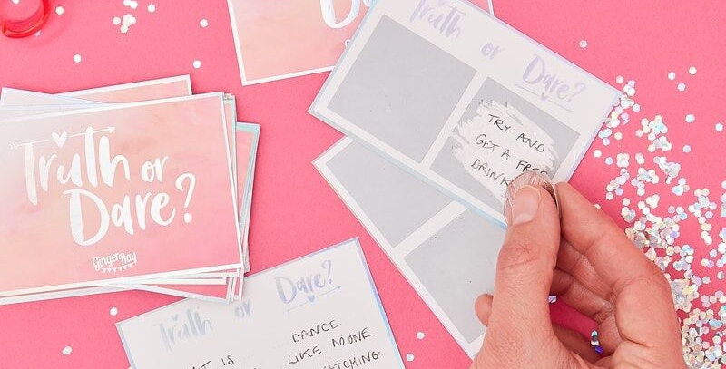 Truth Or Dare Hen Party Game Bride Tribe
