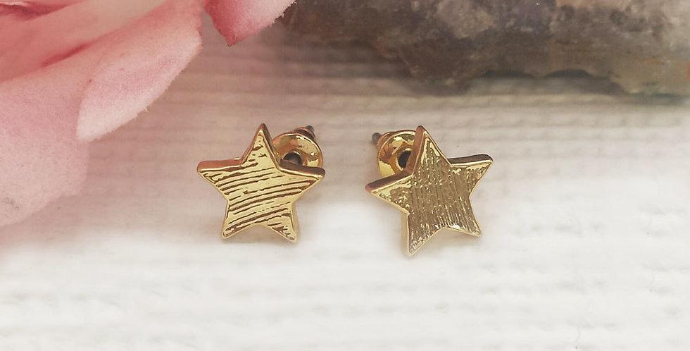 Stars Earrings - Gold