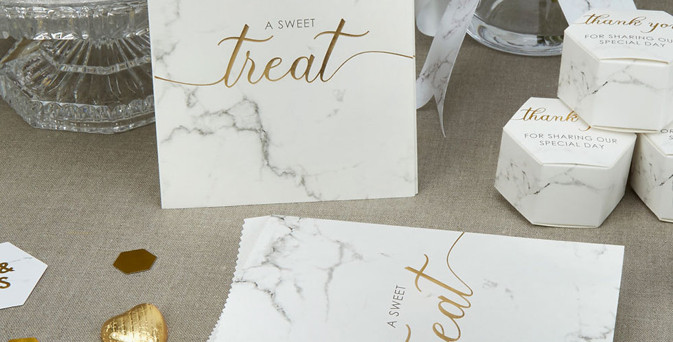 Scripted Marble - Sweetie Bags