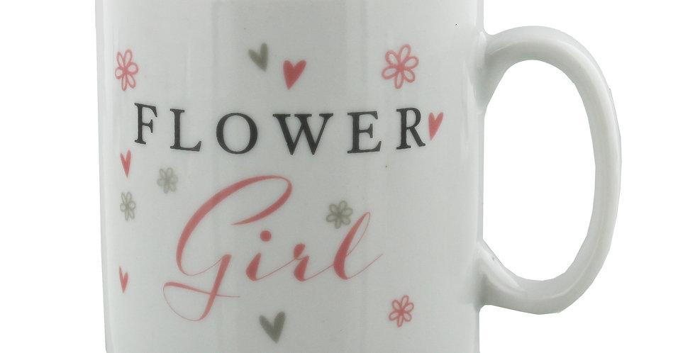 Amore Ceramic Flower Girl Gift Mug