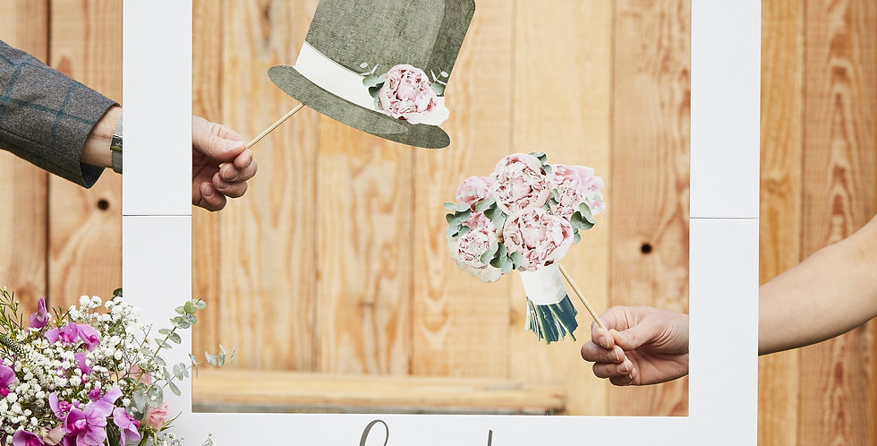 Best Day Ever Photo Booth Sign- Rustic Country