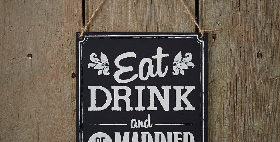 Eat Drink Be Married - Vintage Affair