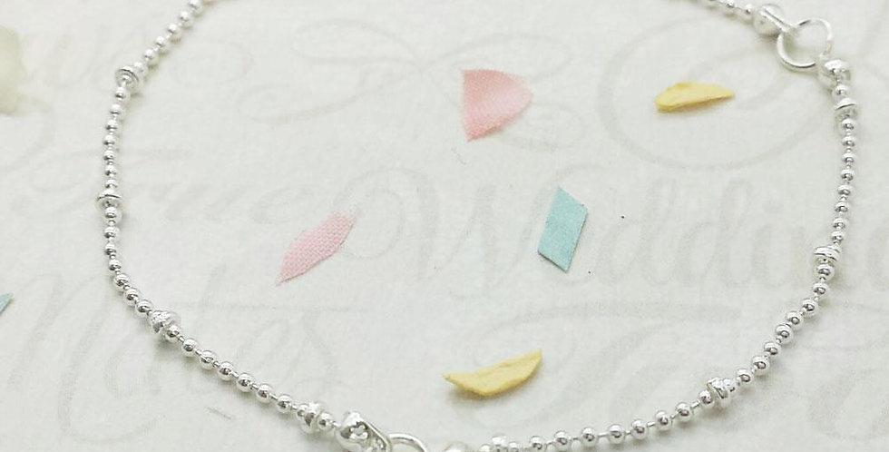 Something Blue - Blue Crystal Bracelet