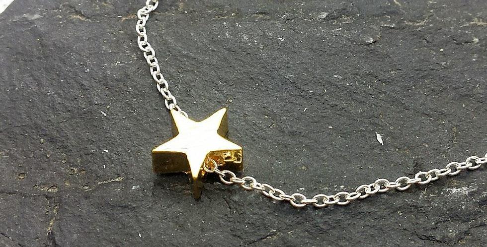 EFY Gold Star Bracelet