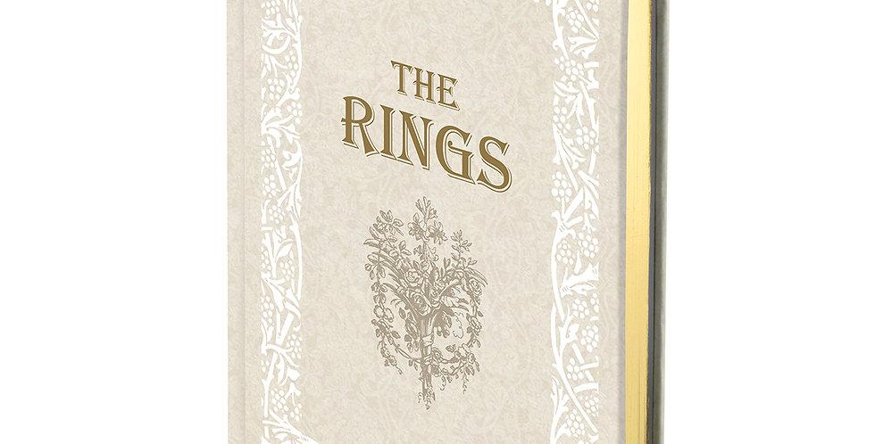 Lillian Rose Fairy Tale Storybook Ring Holder White/Ivory