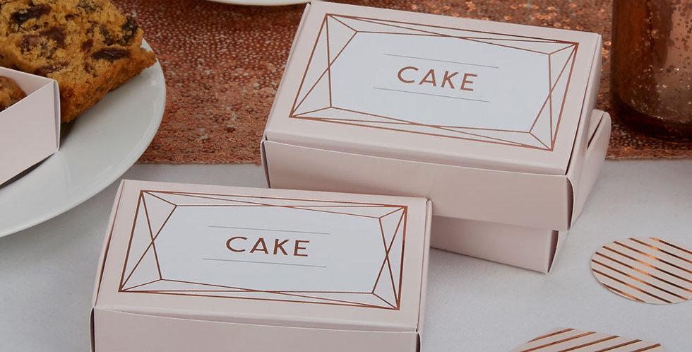 Geo Blush - Cake Box