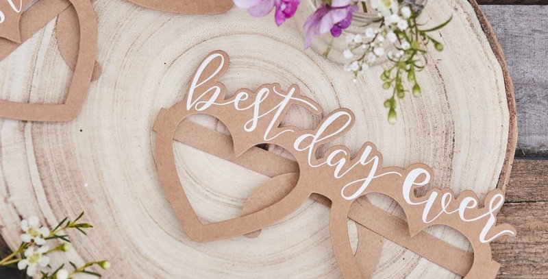 Besy Day Ever Glasses -Rustic Country