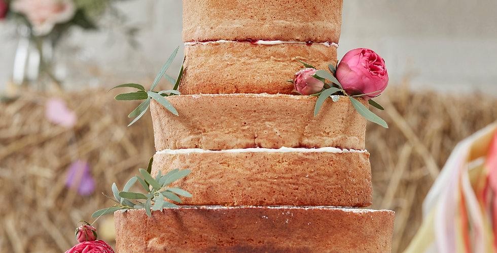 Wooden Mr & Mrs Cake Topper - Boho
