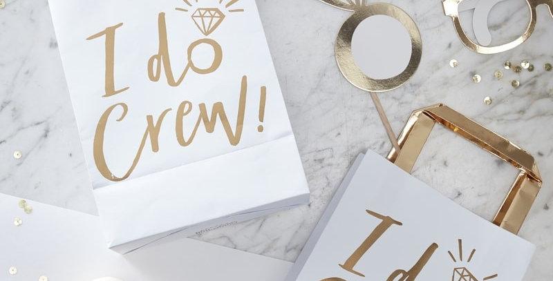 Gold Foil Bag- I Do Crew