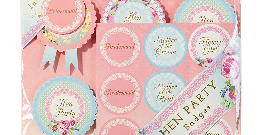Truly Hen Badges