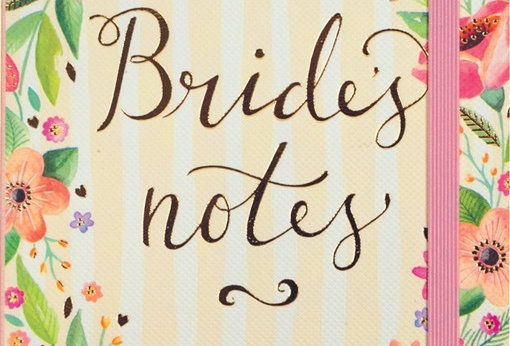 Floral Brides Notebook