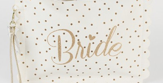 'Always & Forever' Multi Use Clutch with Wristlet 'Bride'