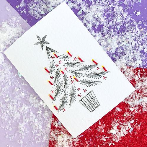 'Black Christmas Tree'