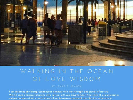 Walking in the Ocean of Love Wisdom