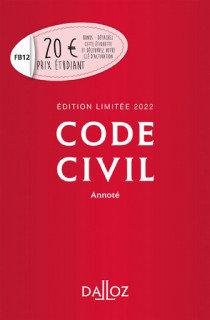 Code civil - Édition limitée 2022: Annoté. 121e éd.