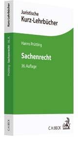 Sachenrecht: Ein Studienbuch. (36版)
