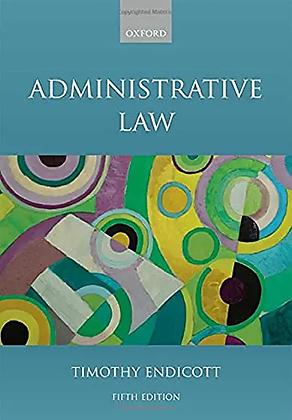 Administrative Law. 5th ed.