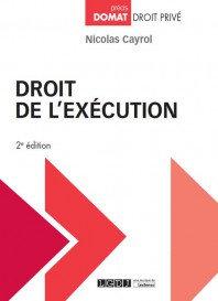 Droit de l'exécution.(2版)