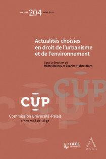 Actualités choisies en droit de l'urbanisme et de l'environnement.