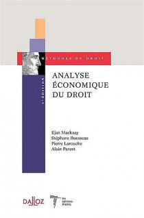 Analyse économique du droit. 3e ed.