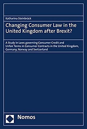 Changing Consumer Law in the United Kingdom after Brexit?: A Study in …
