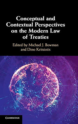 Conceptual and Contextual Perspectives on the Modern Law of Treaties.