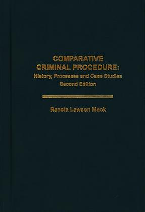 Comparative Criminal Procedure: History, Processes and Case Studies.(2版)
