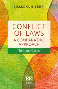 Conflict of Laws: A Comparative Approach. Text and Cases.