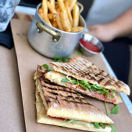 Lunch Paninis